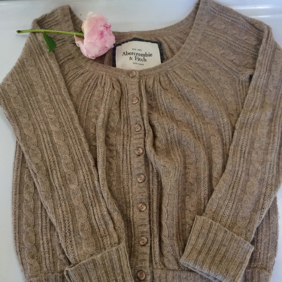 Abercrombie & Fitch Button up Cardigan small top